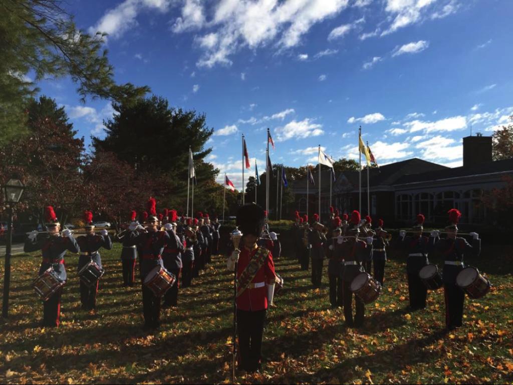 The 2014 VFMA&C Regimental Band